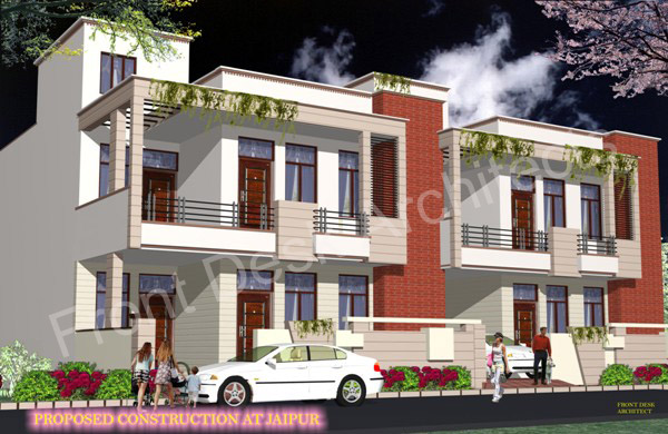 Front desk architects in jaipur residential Home architecture in jaipur