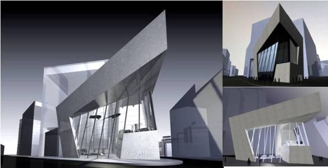 Deconstructivism Furniture Interior Design ~ Deconstructivism theory of design