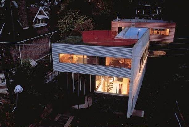 Deconstructivism Rem Koolhaas Villa Dall Ava St Cloud