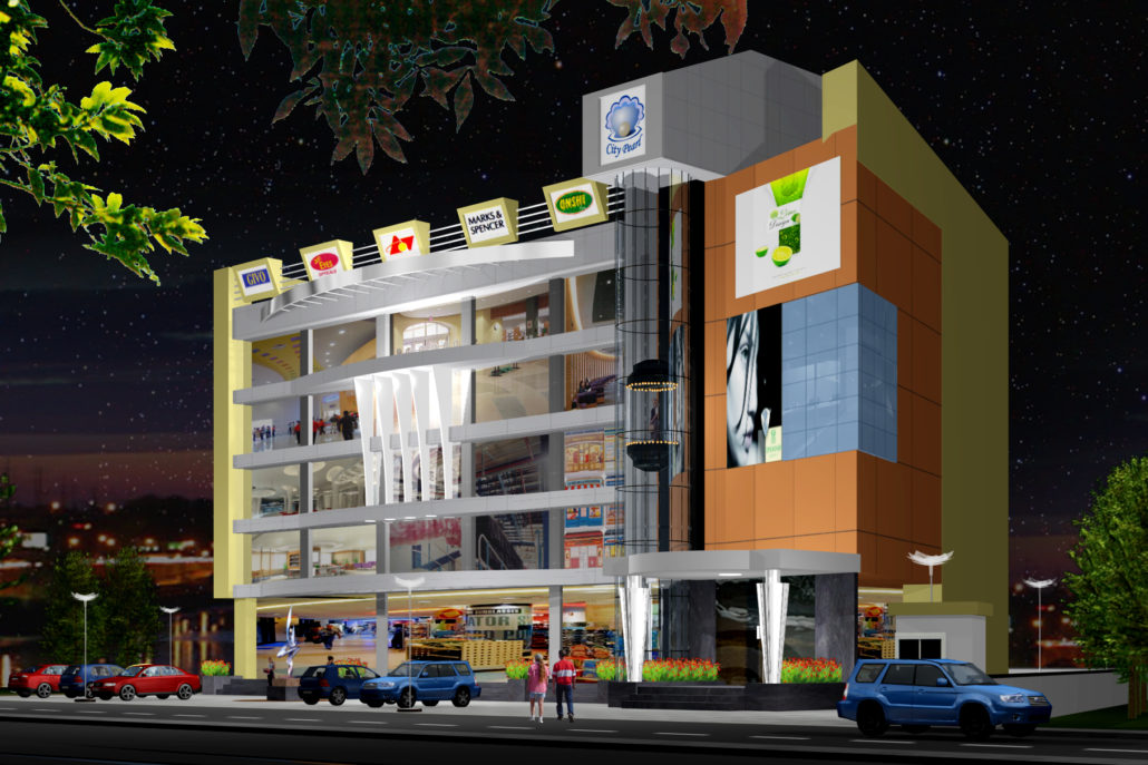 City Pearl, MI Road, Jaipur : Commercial by Front Desk architects