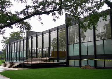 Crown Hall ,llIinois Institute of Technology  Chicago , 1939 - 1958 Designed by Mies Van der  Rohe