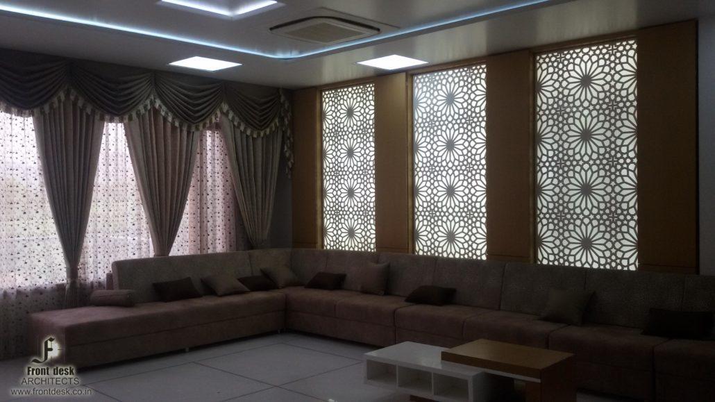 FC Residence Interior living room in Jaipur