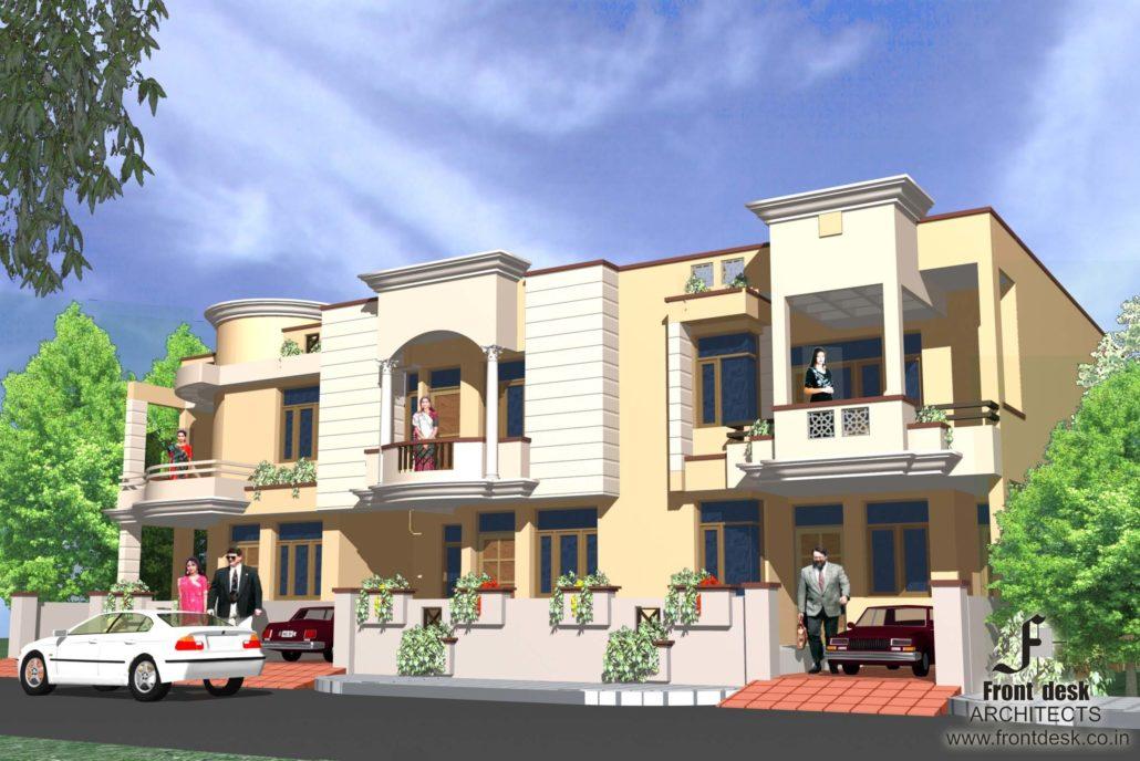 Namaha Buildcon Villa at Jaipur Designed by Front Desk Architects