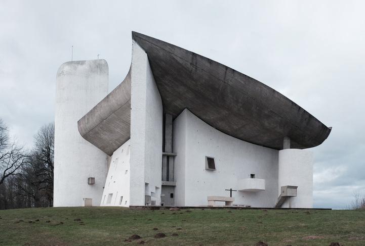 Notre Dame Du Haut Ronchamp France 1950-55