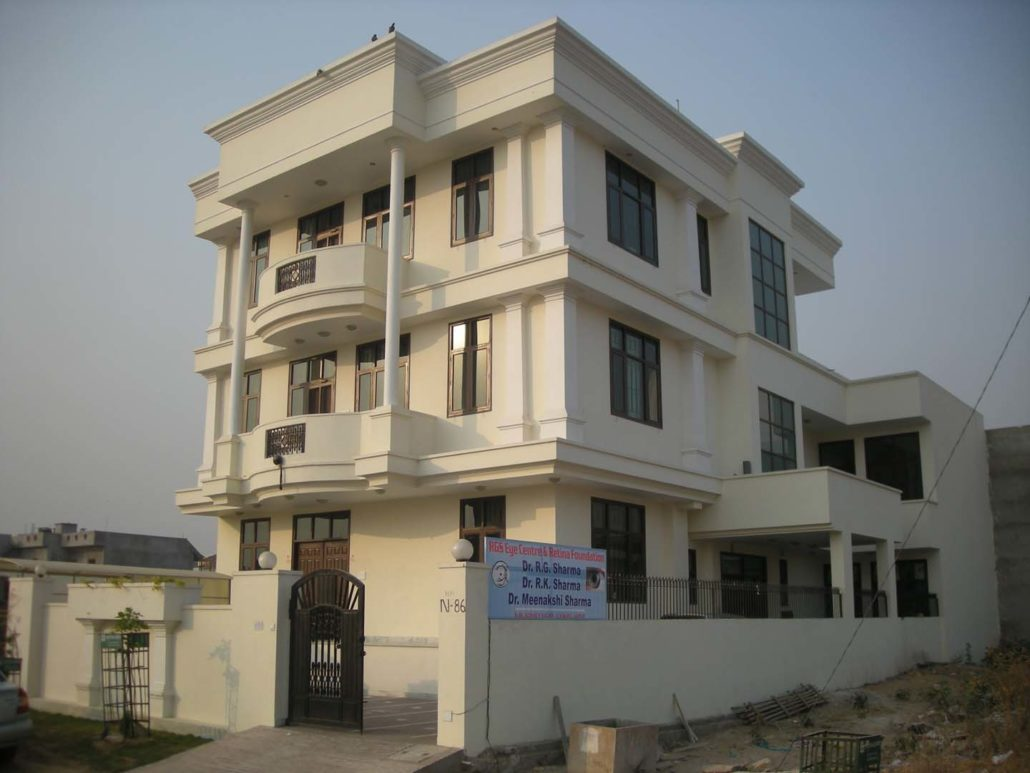 RGS Eye Hospital Jaipur, Designed by Front Desk Architects