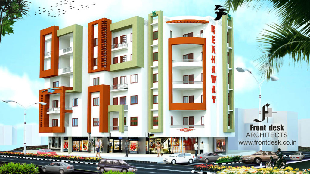 Rekhawat Regency , Nagaur :  Contemporary Housing Project designed by Front Desk Architects