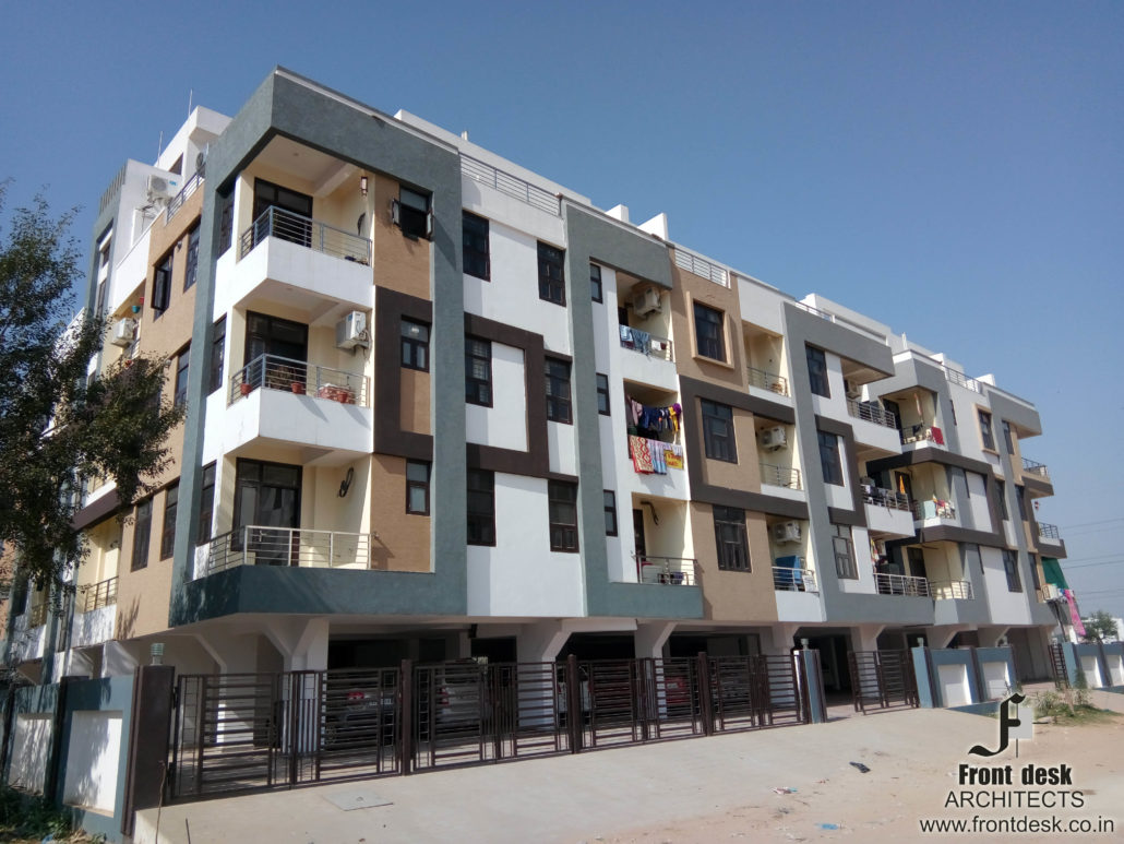 Shri Ratnam Emerald : Contemporary Housing Project designed by Front Desk Architects