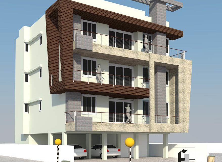 Ambabari Residence Designed by Front Desk Architects