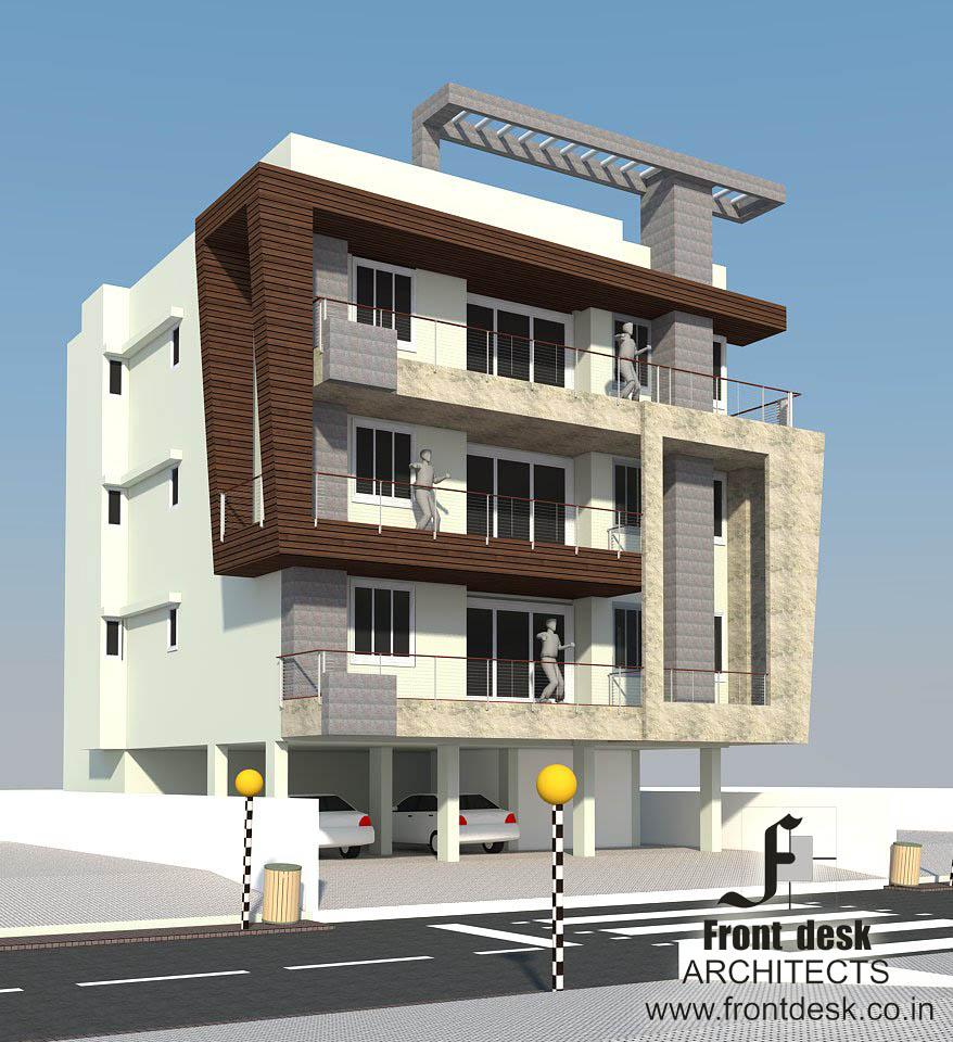Sushil Kabra Residence Designed by Front Desk Architects