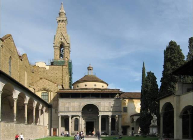Pazzi chapel by Filippo Brunelleschi