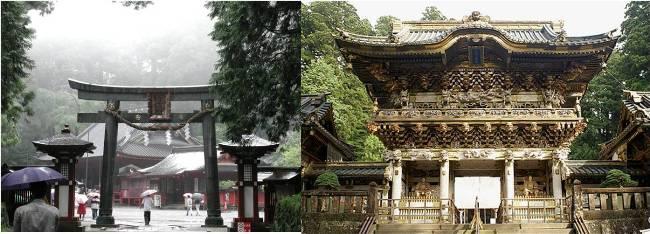 Gate to Toshogu Shrine and YomeimonGate,Toshogu Shrine