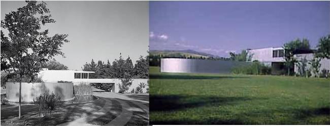 Von Sternberg house , Los angeles, by Richard Neutra.