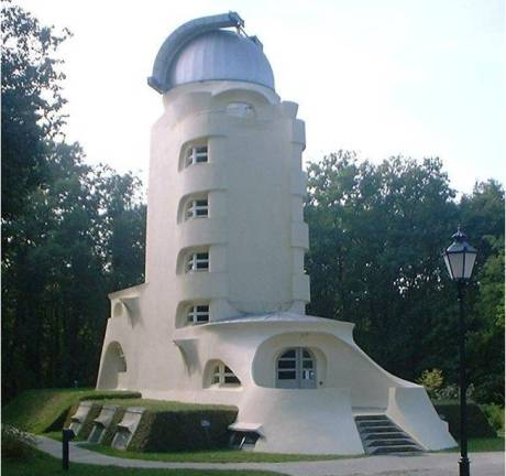 Erich Mendelsohn's Einstein Tower in Potsdam