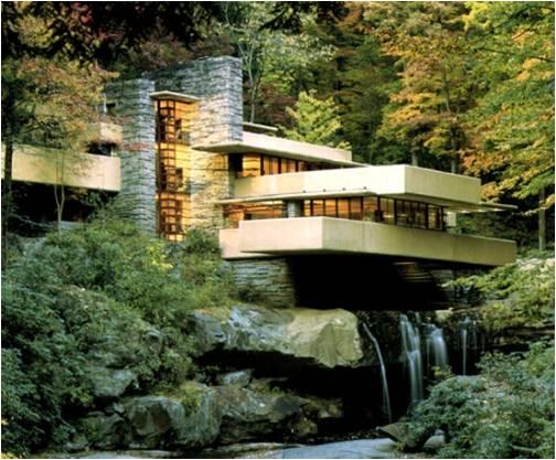 Kauffman House – Falling Water, Pennsylvania