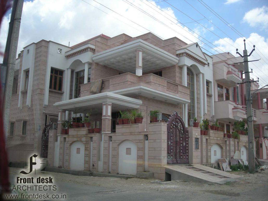 Girdharilal Residence at Mansarovar, Jaipur