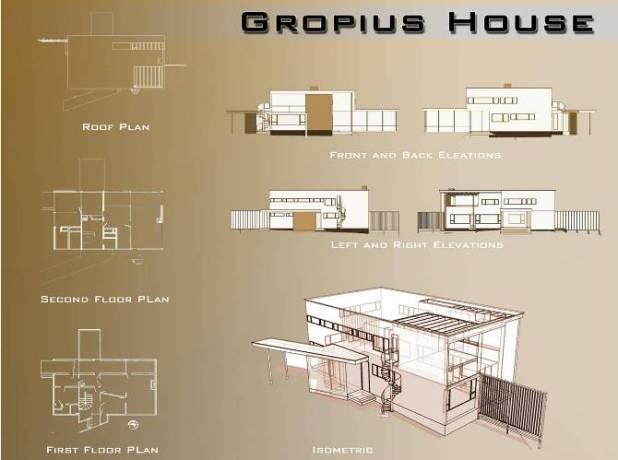 Gropius Residence Designed by Walter Gropius