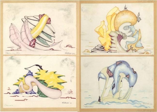 Hermann Finsterlin's Formspiels