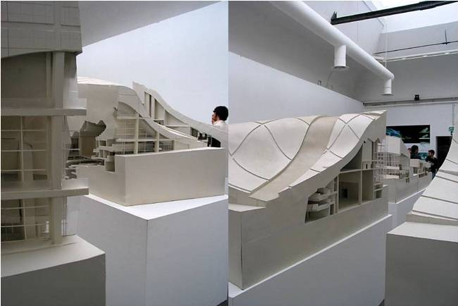 Model of Teatro dela Musica, Spain