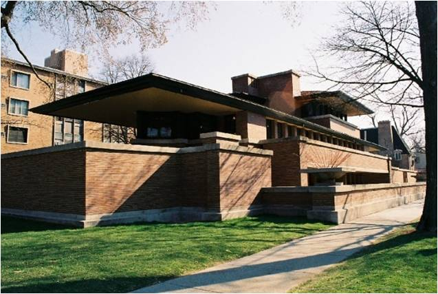 Robie House, Chicago, IL 1906-09 AD