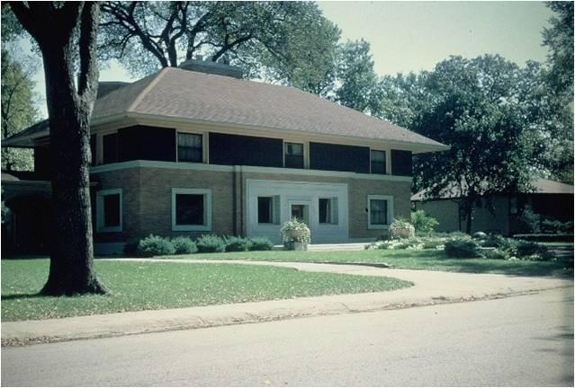 Winslow House,Oak Park, IL 1893 AD
