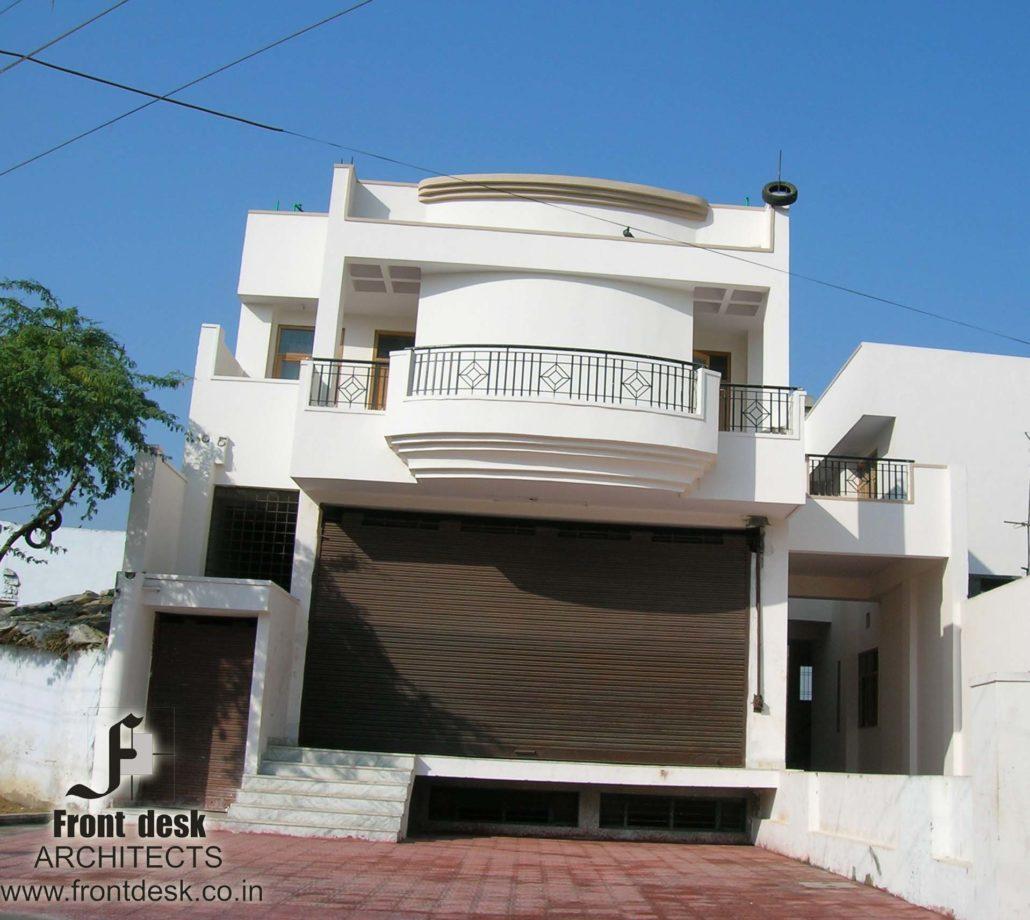 Carport And Garage Modern Architecture Jpg 1030 920: Shyam Nagar Residence Cum Showroom