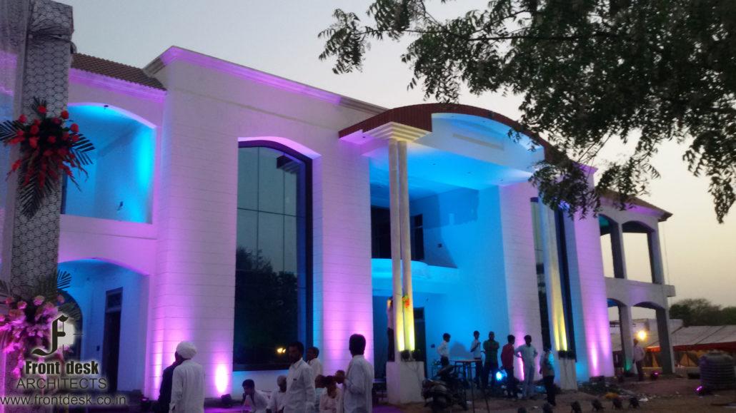 Residence at Ramchandrapura Jaipur : Designed by Front Desk Architects