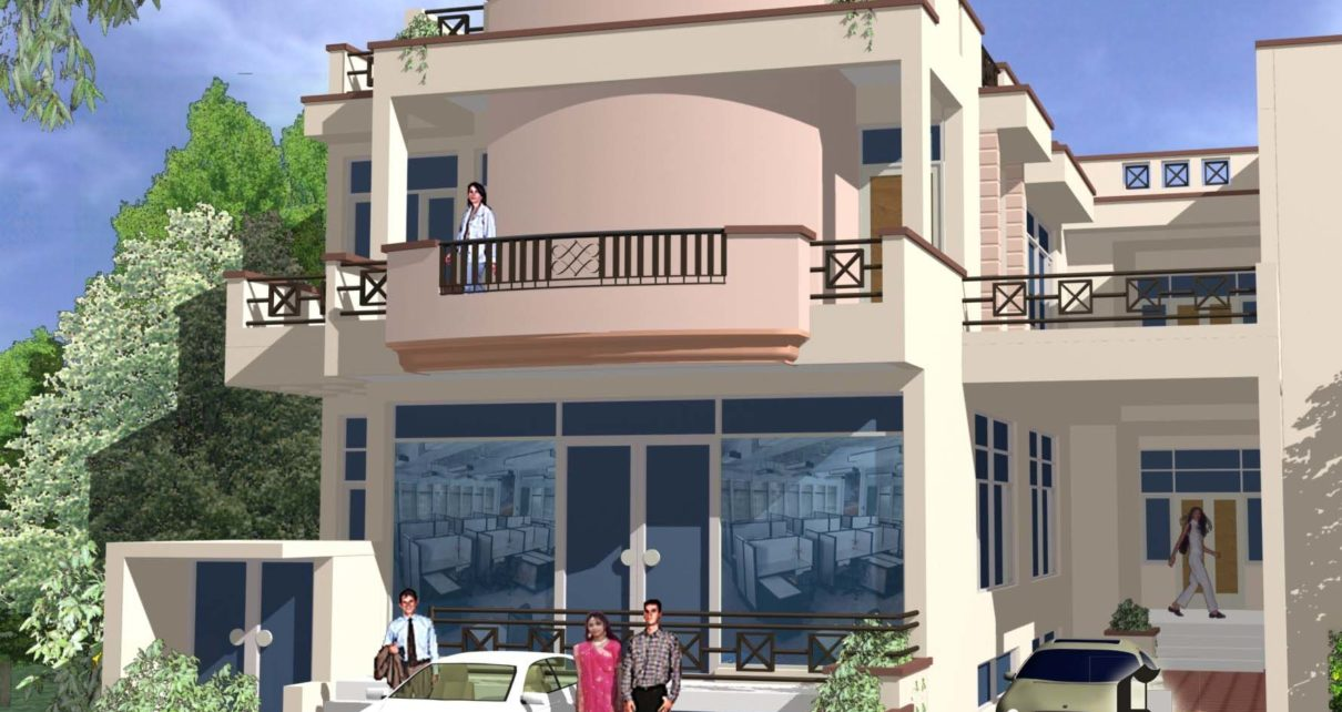 Residence cum Showroom at Shyam nagar Jaipur