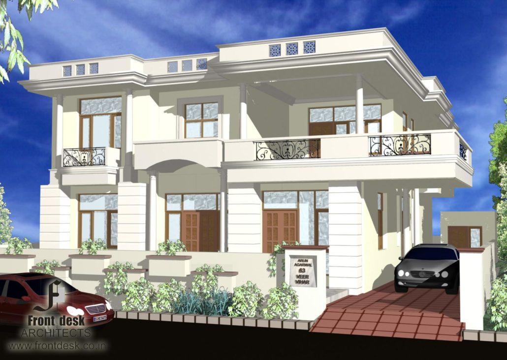 Residence at Plot no 63, Veer Vihar , Queens Road, jaipur