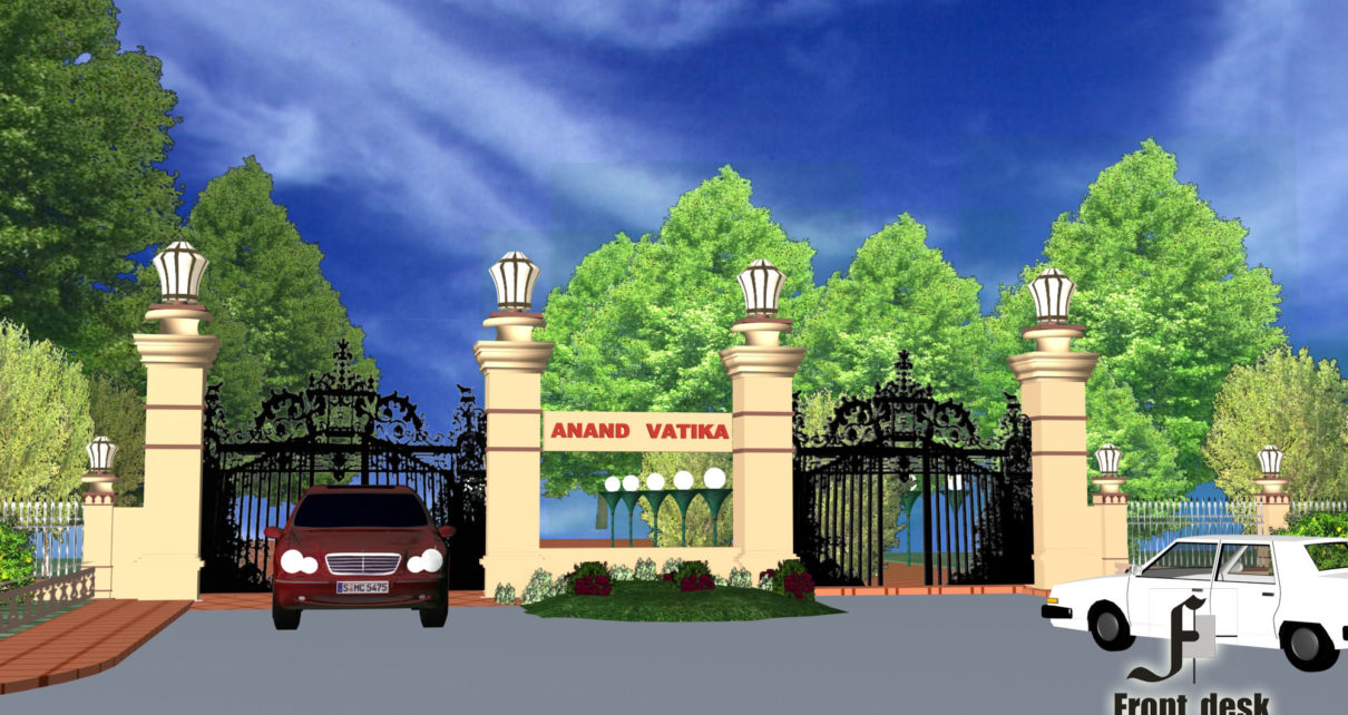 Anand Vatika A plotted development project at Bhande ke Balaji Designed by Front Desk Architects & Planners