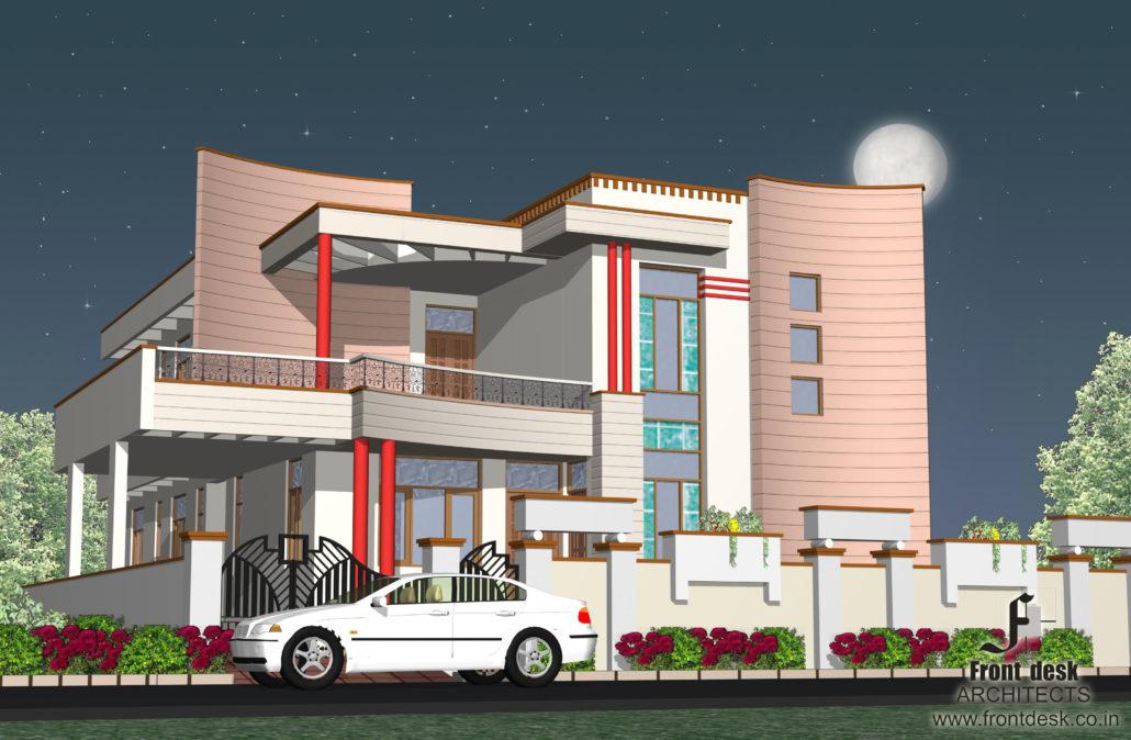 Residence at plot no 3 Shalimar garden , Ajmer road, Jaipur