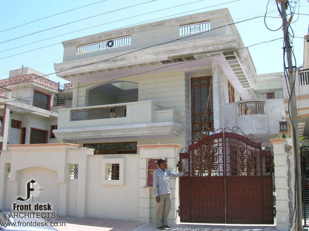 Front View : Residence at Vidhyadhar Nagar Jaipur