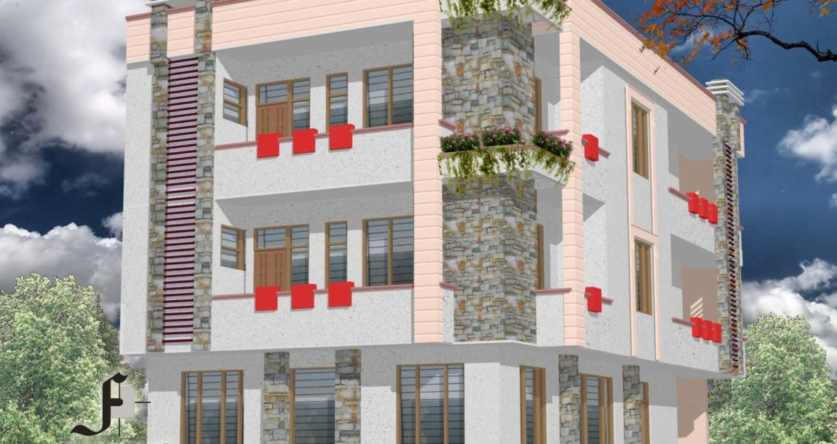 Residence cum office complex at Mozy colony Jaipur