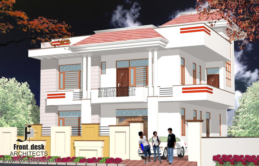 Residence at officers campus, Jaipur